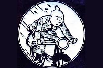 Le XXième siècle 'dessiné' par Tintin